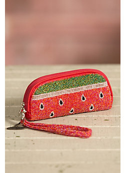 Slice of Life Mary Frances Designer Wristlet Wallet