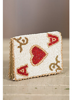 Ace It Mary Frances Designer Card Case Wallet