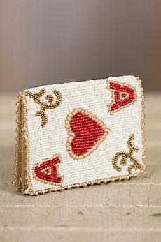 Ace It Mary Frances Designer Card Case Wallet