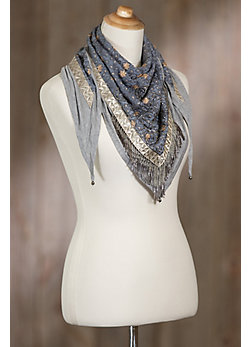Mary Frances Escapade Lotus Scarf
