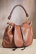 Overland Vanya Lambskin Leather Convertible Crossbody Backpack Shoulder Bag