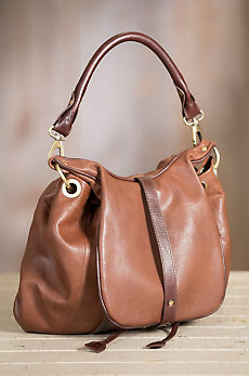 Overland Vanya Lambskin Leather Convertible Crossbody Backpack Handbag