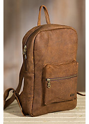 Simba African Bovine Leather Caddy Backpack
