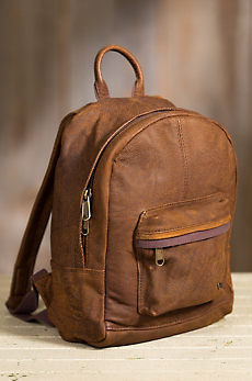 Scout African Bovine Leather Backpack
