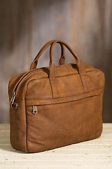 Farai African Bovine Leather Messenger Bag