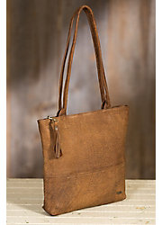Salvador African Bovine Leather Tote Bag