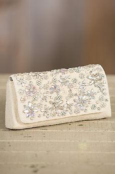 Sweet Heart Mary Frances Designer Crossbody Clutch Handbag