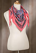 Mary Frances Kaleidoscope Lotus Scarf