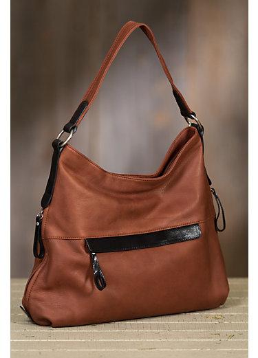 Elena Argentinian Leather Shoulder Bag