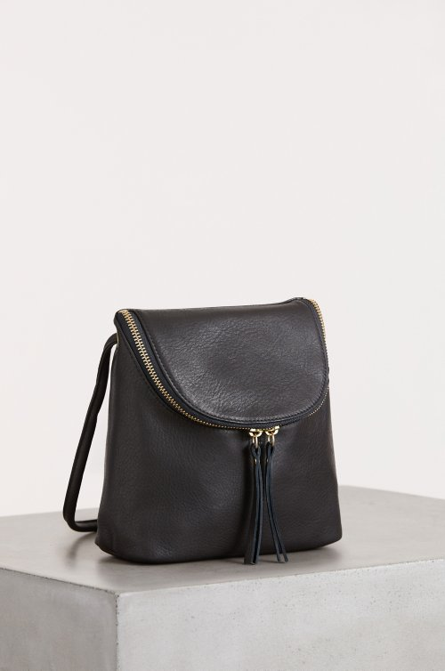 Florence Argentine Leather Small Crossbody Shoulder Bag