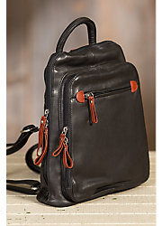 Macy Leather Backpack Handbag