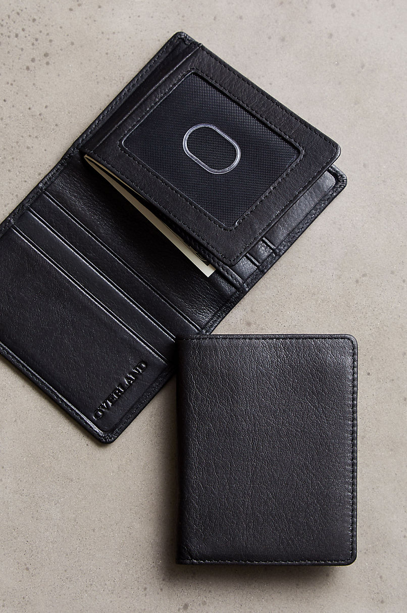 Argentine Leather Billfold Wallet with RFID Protection