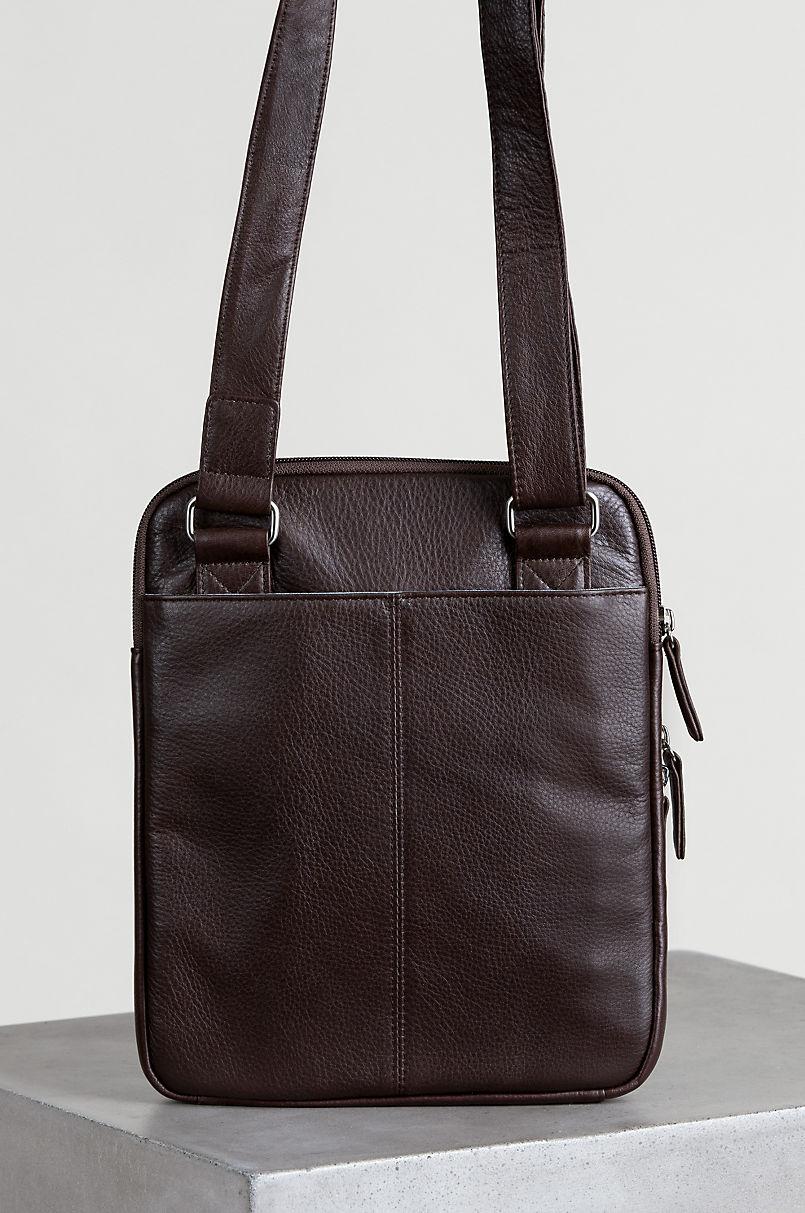 Springdale Argentine Leather Crossbody Bag