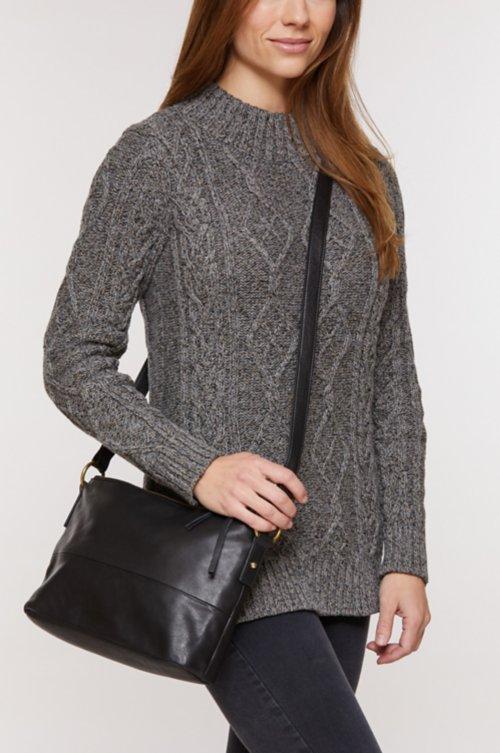 Florence Argentine Leather Convertible Crossbody Shoulder Bag