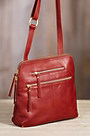 Mable Leather Crossbody Handbag