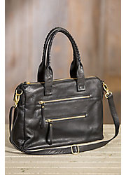 Hazel Leather Crossbody Handbag