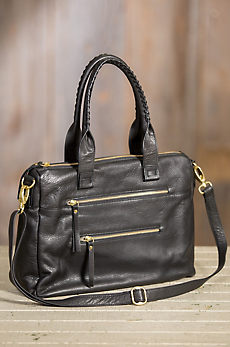 Hazel Leather Crossbody Handbag