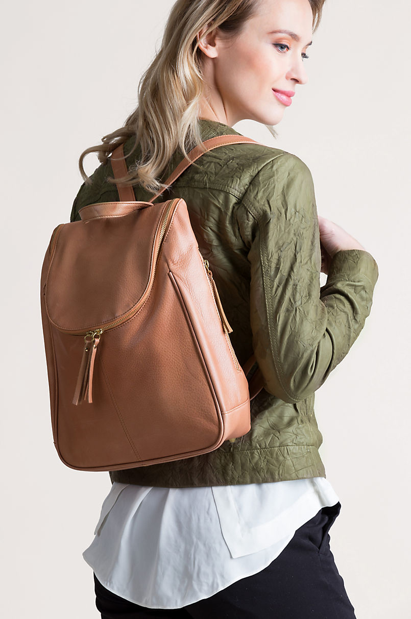 29ad4fc0235 Florence Argentine Leather Backpack Purse | Overland