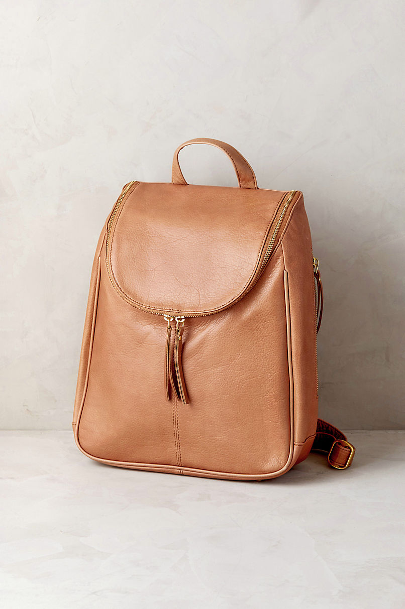 Nora Argentine Leather Backpack Purse