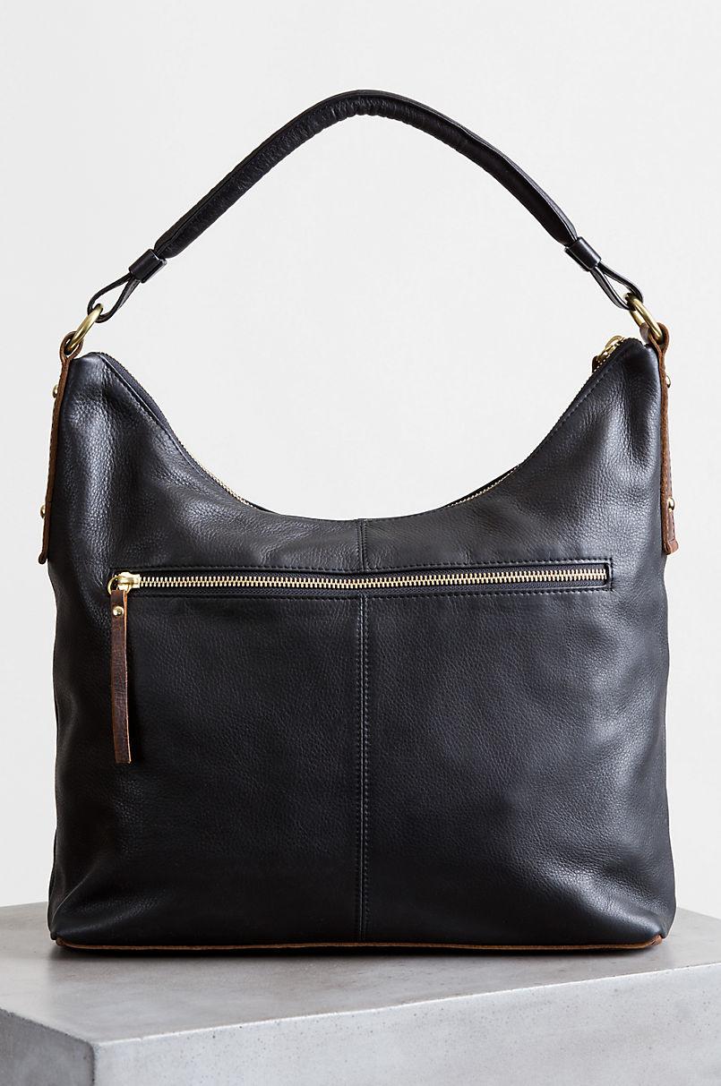Roma Argentine Leather Crossbody Shoulder Bag with RFID Pocket