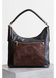Thea Argentine Leather Crossbody Shoulder Bag with RFID Pocket