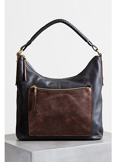 Thea Argentine Leather Crossbody Shoulder Bag with RFID Pocket