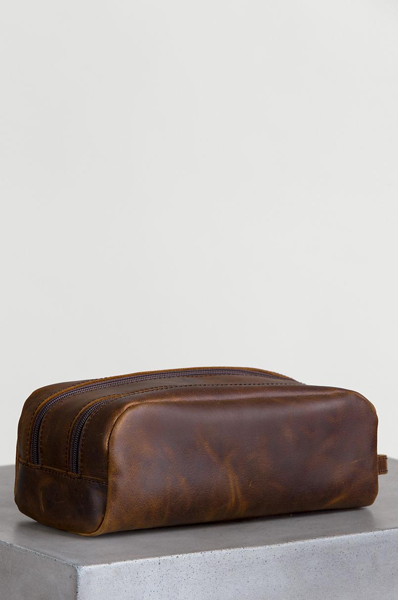 Argentine Leather Travel Kit