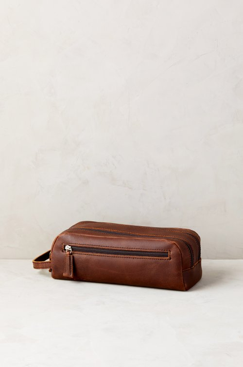 Argentine Leather Travel Kit