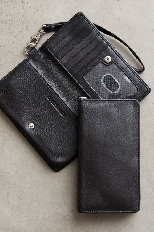 Argentine Leather Phone Wristlet Clutch Wallet