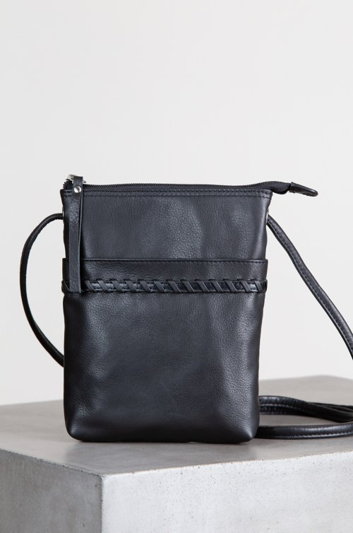Venice Small Argentine Leather Crossbody Bag