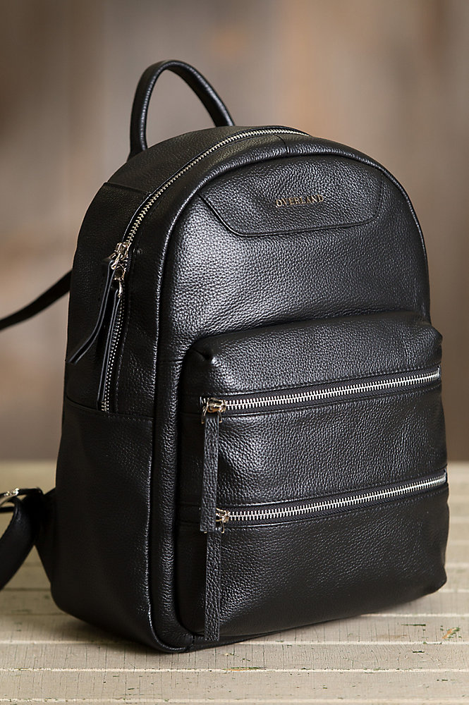 Davenport Leather Backpack