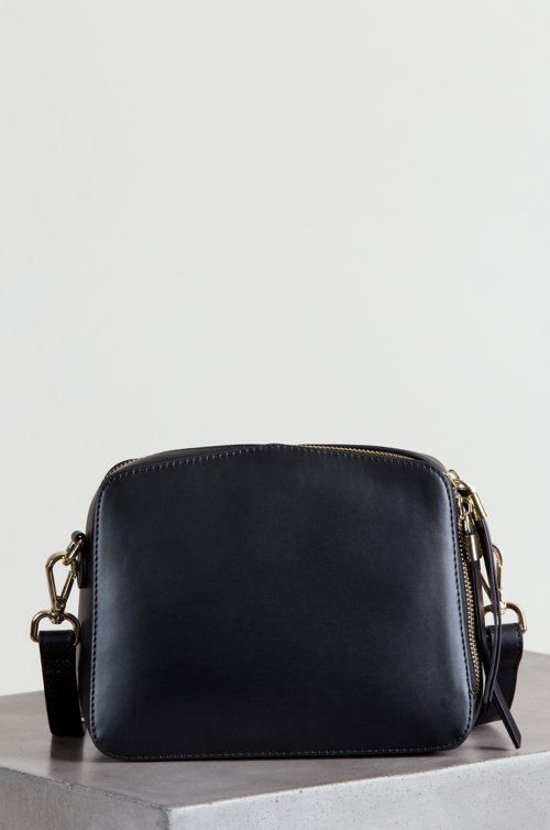 Lincoln Park Leather Crossbody Clutch