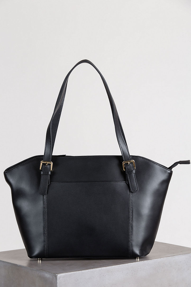 Lincoln Park Leather Tote Bag
