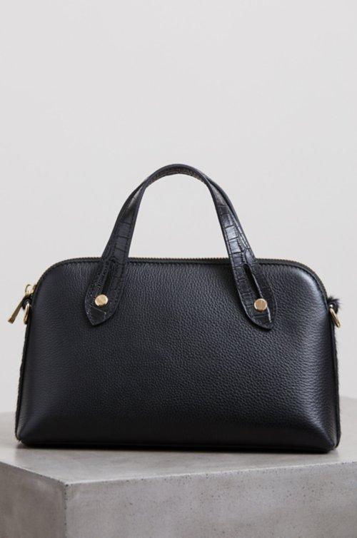 Belleville Leather Convertible Crossbody Clutch