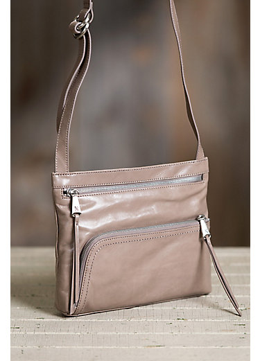Hobo Cassie Leather Convertible Crossbody Shoulder Bag