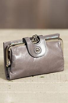 Hobo Alice Leather Clutch Wallet