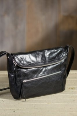 Hobo Shane Leather Messenger Handbag