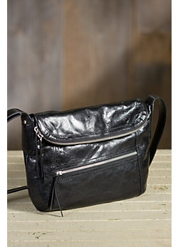 Hobo Shane Leather Crossbody Handbag