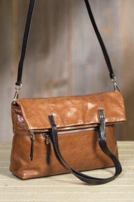 Hobo Leonie Convertible Leather Handbag