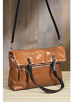 Hobo Leonie Convertible Leather Handbag