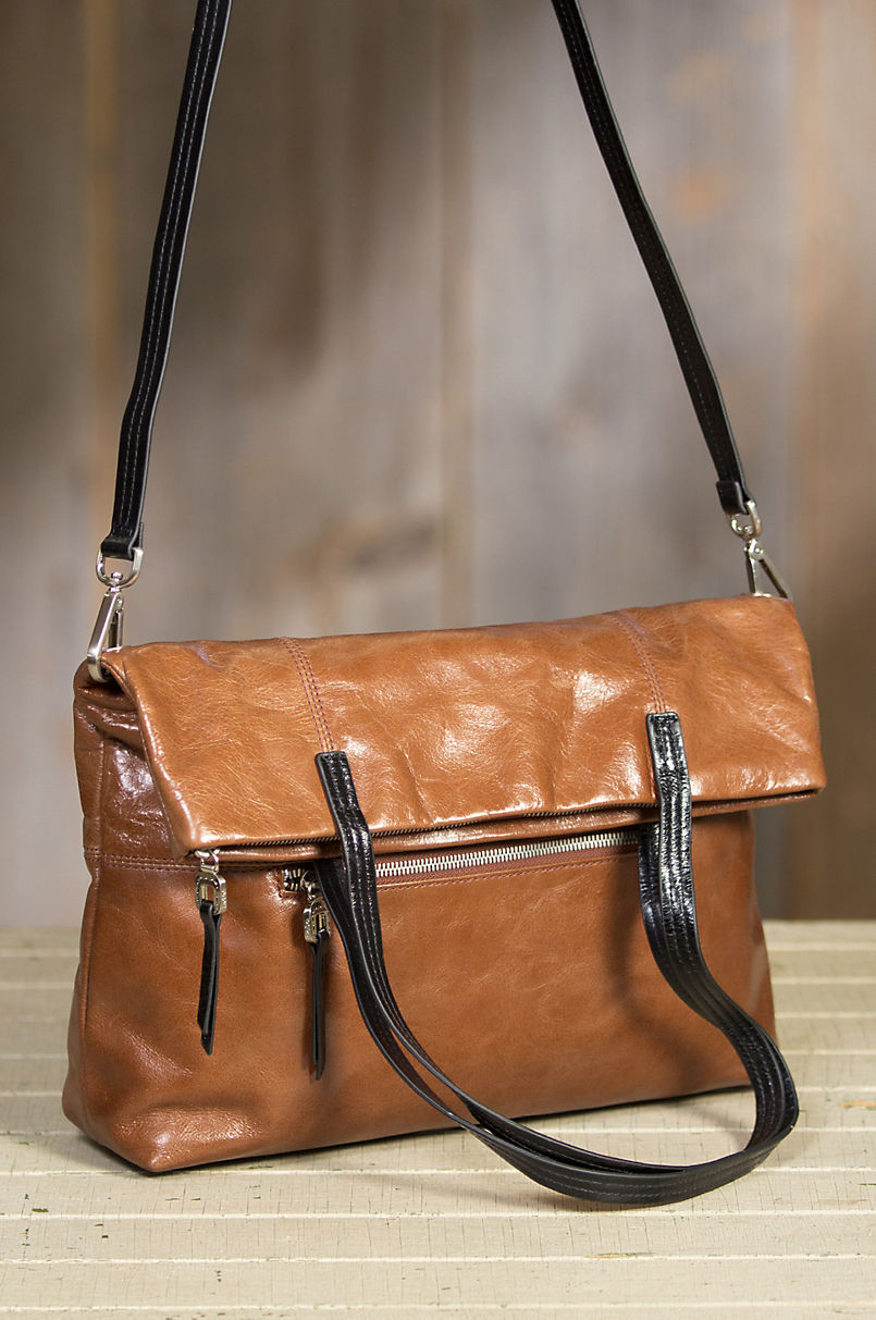 Hobo Leonie Convertible Leather Crossbody Tote Bag  60b4f368820ab