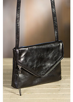 Hobo Adelle Leather Crossbody Handbag
