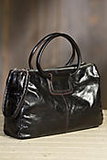 Hobo Salina Leather Handbag