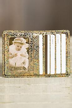 Hobo Euro Slide Patterned Leather Wallet