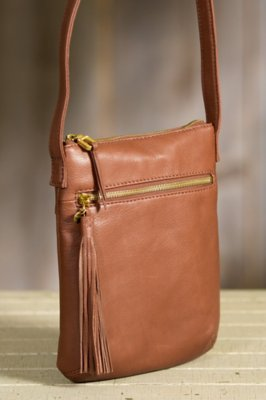 Hobo Sarah Leather Crossbody Handbag