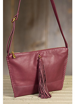 Hobo Stellar Leather Crossbody Handbag