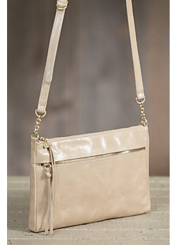 Hobo Hadlee Leather Crossbody Handbag