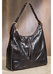 Hobo Marley Leather Handbag