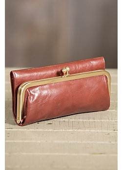 Hobo Rachel Leather Clutch Wallet