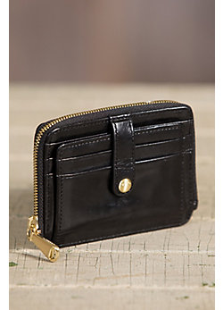 Hobo Katya Leather Coin Pouch Wallet